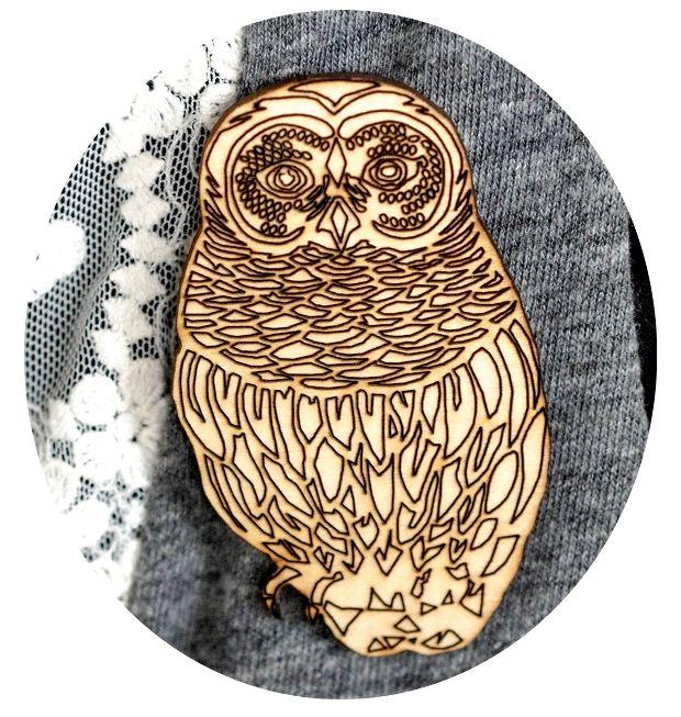 Image of Owl Brooch