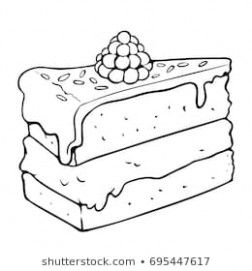 Learn All About Slice Of Cake Drawing From This Politician ...