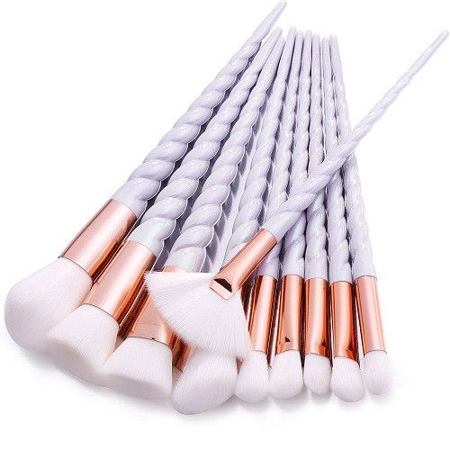 10pcs Unicorn Makeup Brush Set Love it