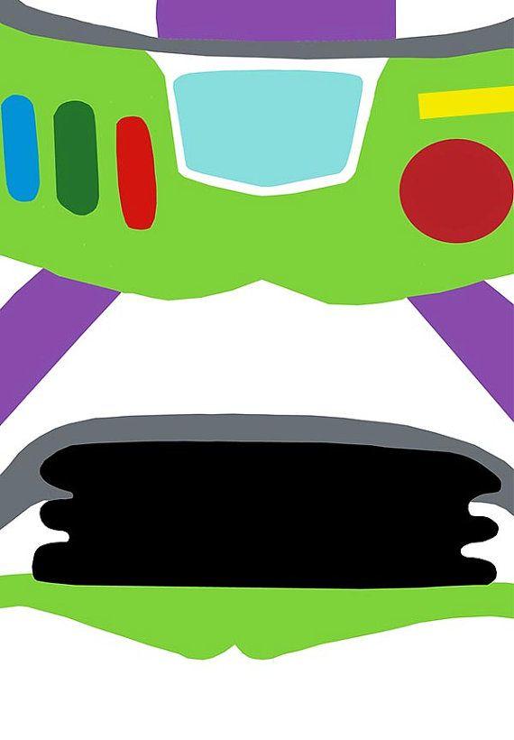 Toy Story Buzz Lightyear Art Wall Art Print par geeksleeksheek