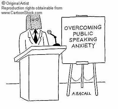 Image result for Public Speaking Anxiety