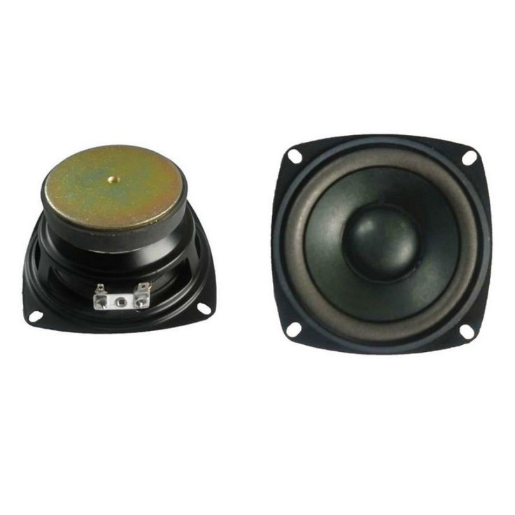 4Inch Tweeters Audio Woofer Speakers 6Ohm 10W Portable Bubble Edge Cone Speaker