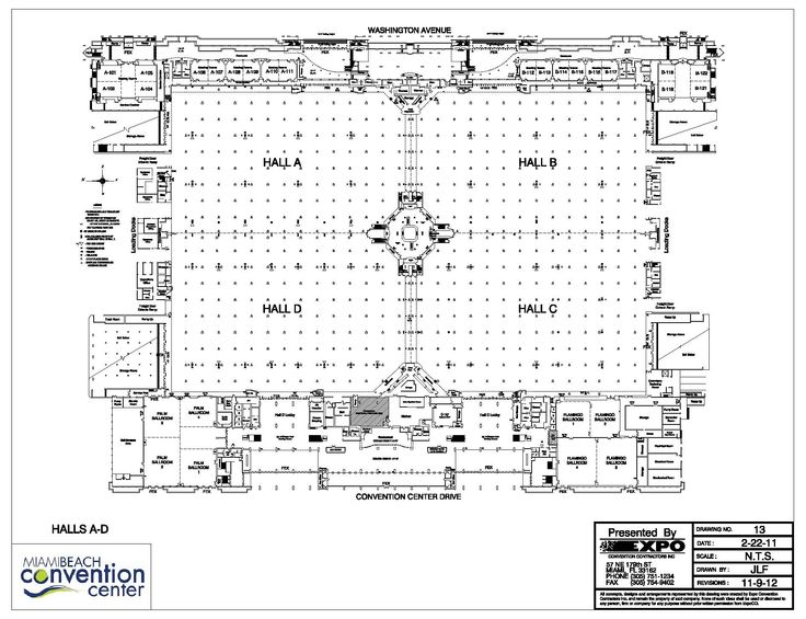 Minneapolis Convention Center Floor Plan: Miami Beach Convention Center