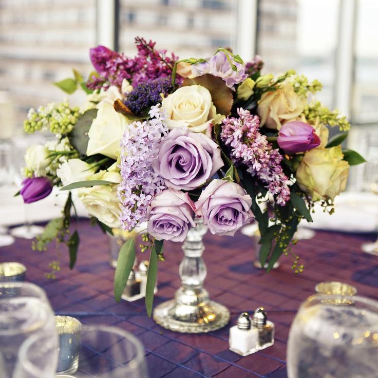 76 best Purple wedding flowers images on Pinterest Marriage