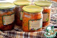 Салат Фасолька Фасоль (сухая, до отваривания) — 6 стак. Морковь — 1 кг Перец сладкий — 1 кг Лук репчатый — 1 кг Помидор — 3 кг Соль — 2 ст. л. Сахар — 200 г Уксус (9 %) — 80 мл Масло растительное — 200 мл