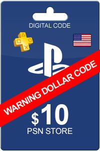 Playstation Network Card 10 USD that can be used as currency within the PlayStation store. Buy video games and goods from the PSN store. This card is a giftcard and does not provide you full access to the PSN+ benefits.  You can buy our product now, we deliver instantly to your email :)