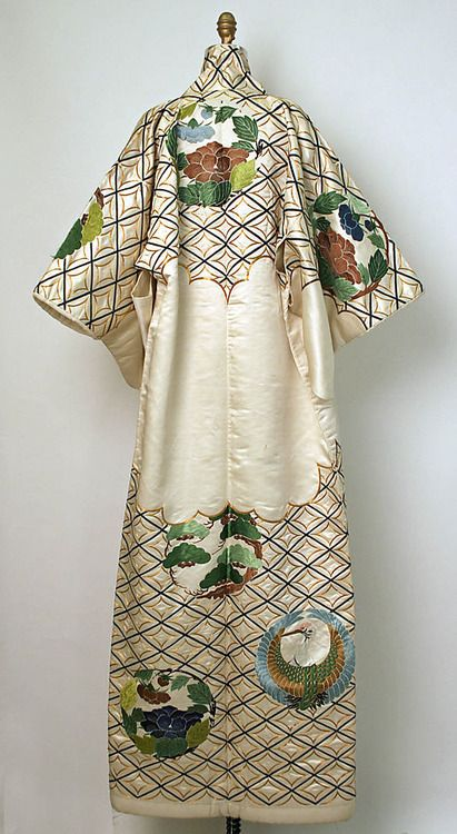 Special-function kimono. Probably late 19th century, Japan