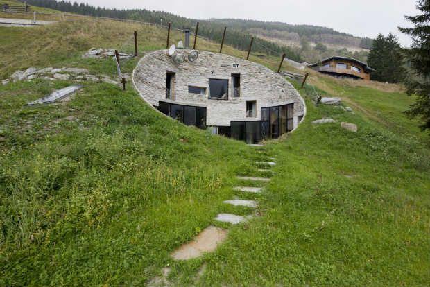 Architettura sostenibile 1 - Villa Vals