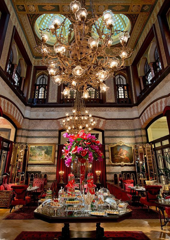 Tea Time / Pera Palace Hotel- Istanbul,Turkey