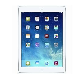 2: Apple iPad Air Cellular 128g Silver ME988X/A. Would love to take one with me so I can take lots of photos & make a movie or two while we're there