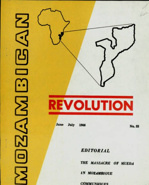 Page 1 :: Mozambican revolution, no. 25, June-July 1966 :: Emerging Nationalism in Portuguese Africa, 1959-1965. http://digitallibrary.usc.edu/cdm/ref/collection/p15799coll60/id/1909