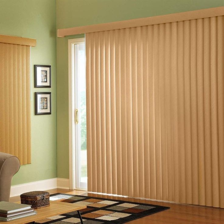 types of blinds for sliding glass doors