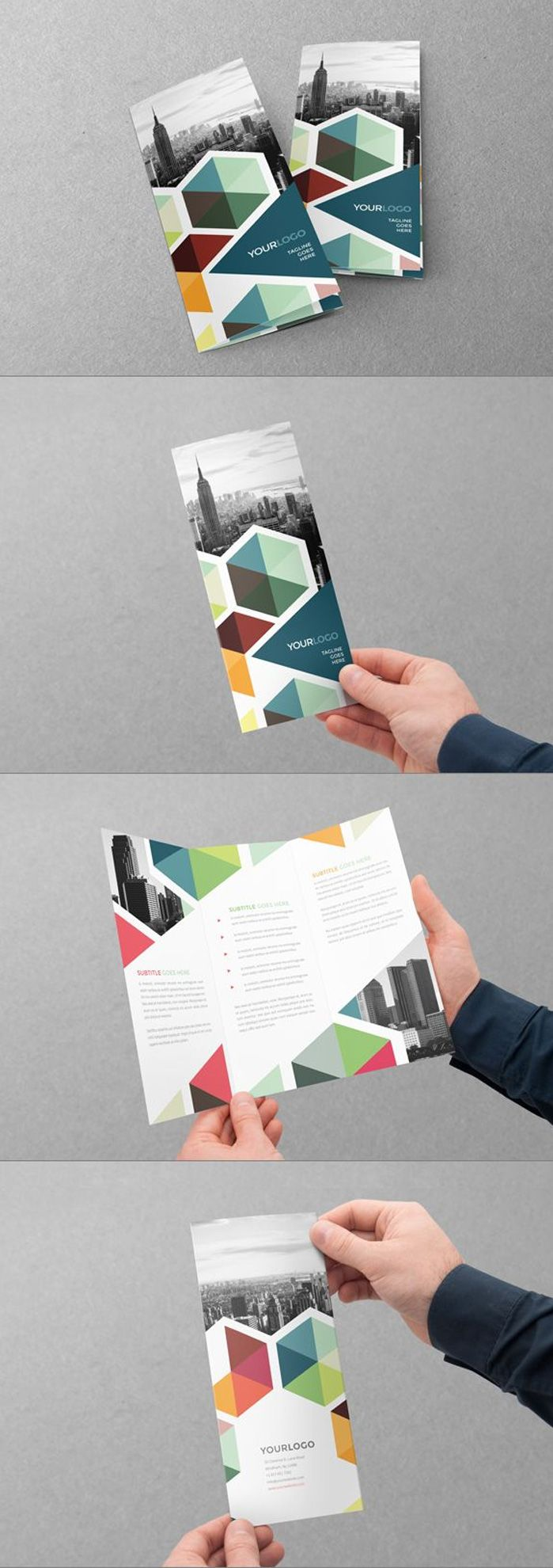 Creativos diseños de brochure para inspiración.                                                                                                                                                                                 Más