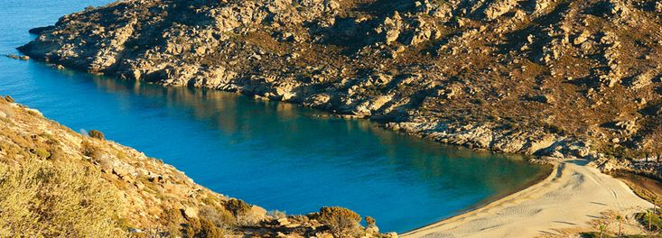 Papa beach Ios, Greece