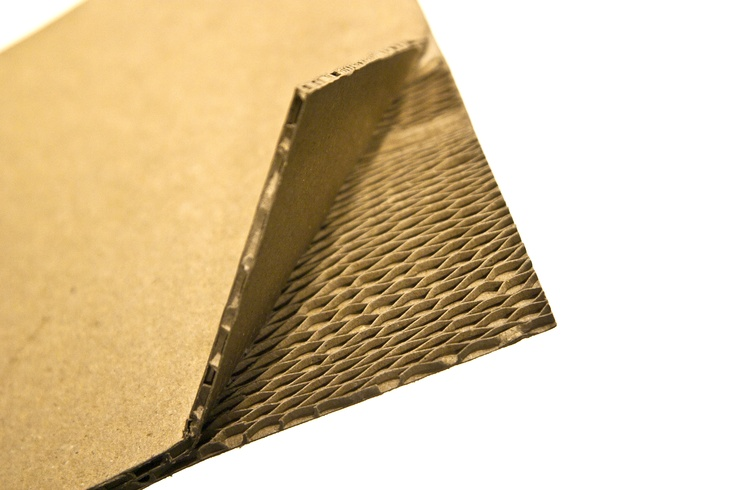 D2  :  The Dual Density Honeycomb board specially designed to absorb the collision force.
