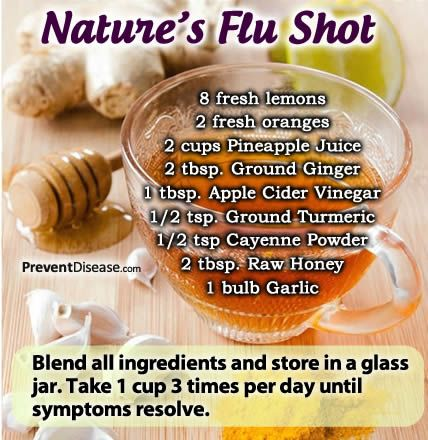 Try Nature's Flu Shot Instead of a Toxic Jab - 9 Ways To Keep Your Immune System Strong