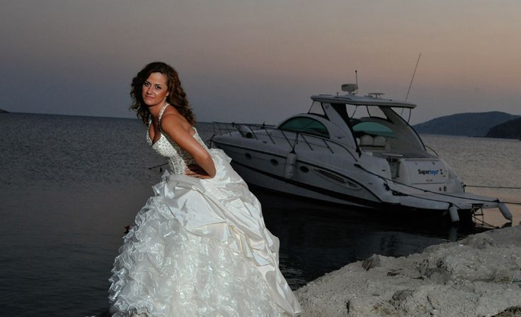 Bride photography in Greece