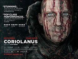 Coriolanus (2011 movie: Shakespeare adaptation) starring Ralph Fiennes /////////////// JK