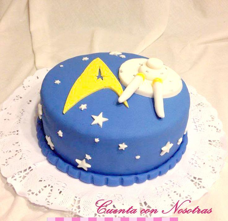 Torta Star Trek Star Trek Cake