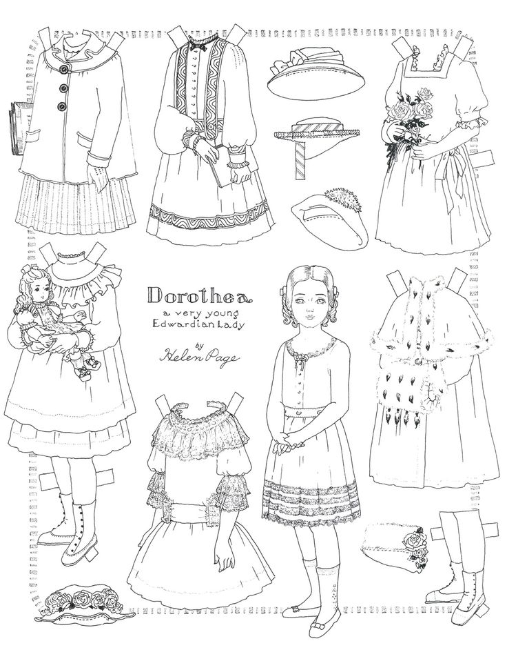 369 Best Paper Dolls Images On Pinterest | Paper Dolls, Paper And
