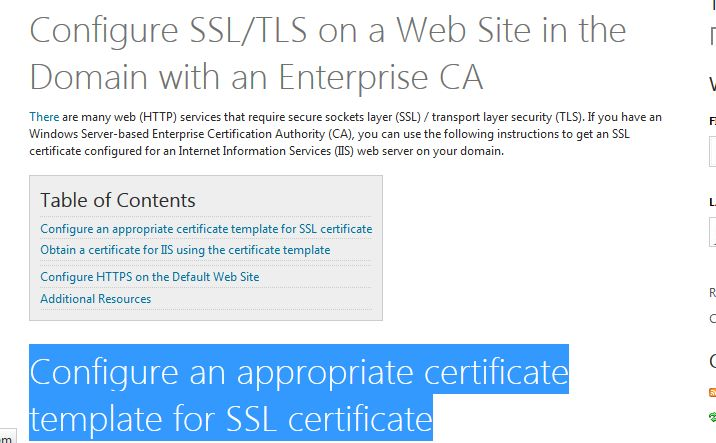 Configure an appropriate certificate template for ssl certificate configure an appropriate certificate template for ssl certificate ad fs pinterest microsoft yelopaper Choice Image