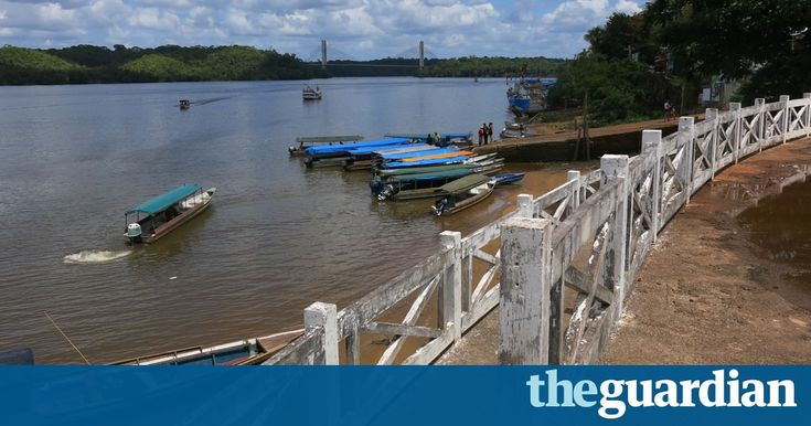 The Amazon town, a coral reef, big oil, and a catastrophe waiting to happen