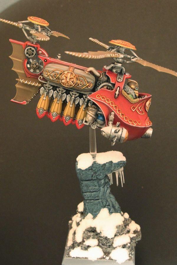 Warhammer Dwarf Gyrobomber