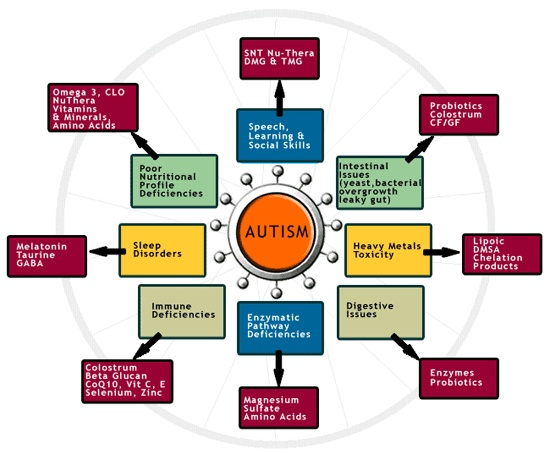 autism vitamins and supplements