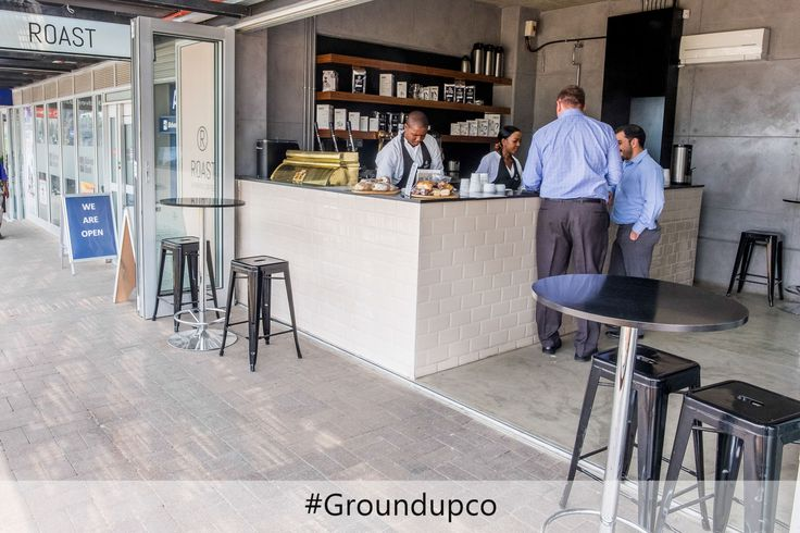 Roast Coffe Shop, one of many successful projects in the commercial sector #RoastCoffeeShop #GroundUPCo
