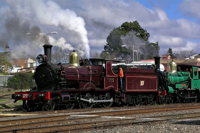 Steam Engine 1709 at Moss Vale by brettm8, via Flickr
