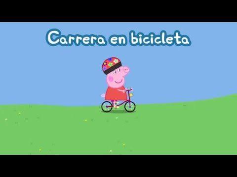 Peppa Pig Español Audio Latino HD 720P - Episodios Carrera en Bicicletas ! Inedito - Juego Android - YouTube