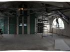 (Avril 2013) Vue de la salle des Trois Soeurs événementiel. De grandes fenêtres semi-circulaires mettant en valeur le magnifique paysage pastoral!