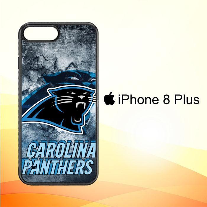 carolina panters R0312 iPhone 8 Plus Case