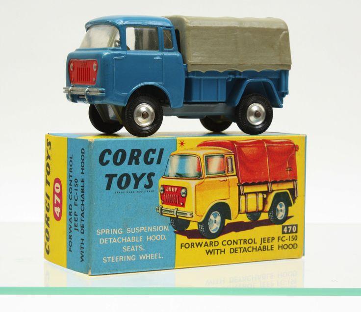 Corgi Toys #470 Forward Control jeep