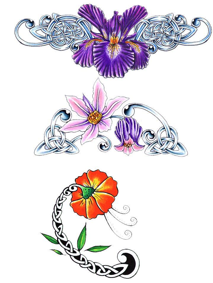 flower tattoo designs | Send eCard - Flower Tattoo Designs 14