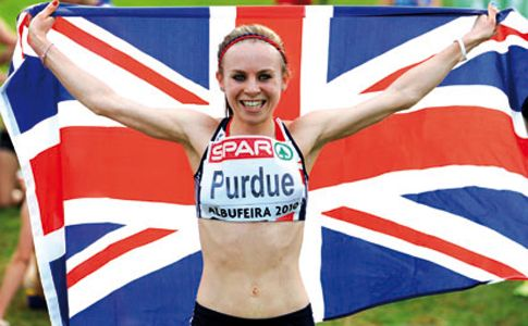 Sportsister meets Charlotte Purdue.  Charlotte Purdue was sitting in school when her mum text her to let her know that the Olympics were going to be held in London.    She laughed it off. 2012. That's miles away. No need to worry or go get excited just yet.