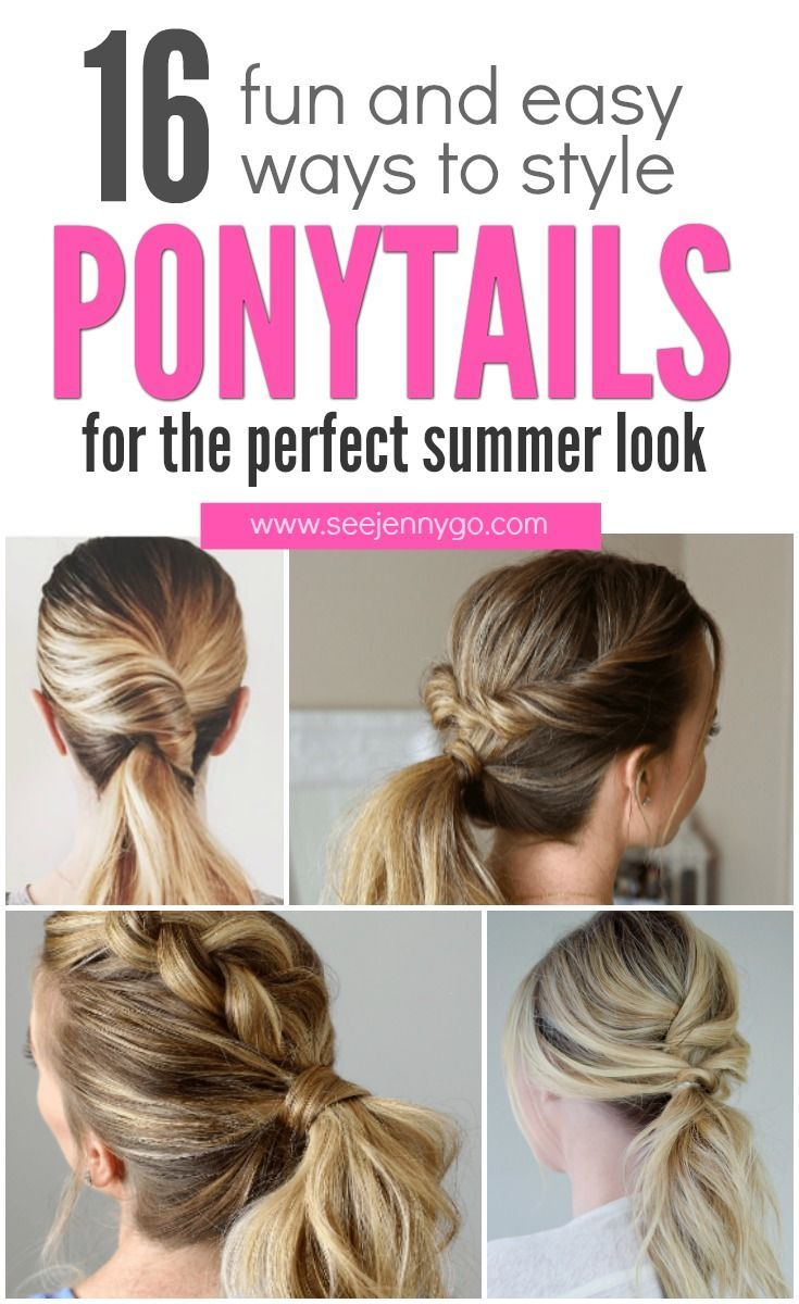 Great Ponytails looks pictures advise to wear for on every day in 2019