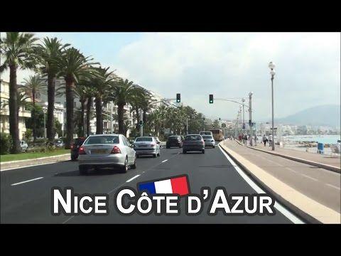 FR / Nice Côte d'Azur / Promenade des Anglais - YouTube