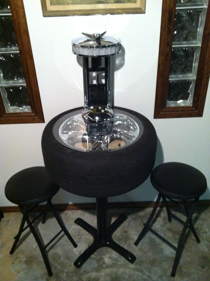 tire table diy pinterest