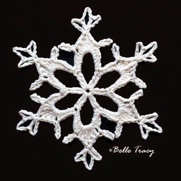 Snowflake # 18  ~ free pattern ᛡ