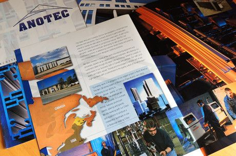 Anotec corporate brochure