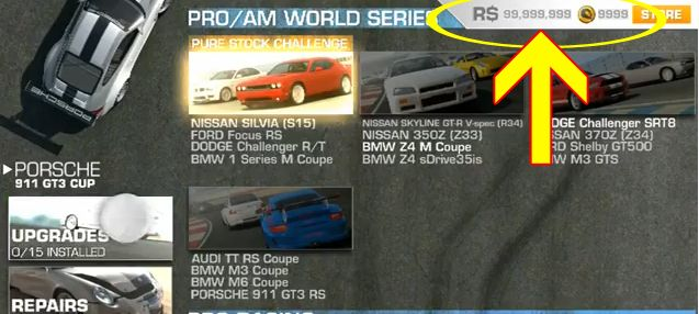 Real Racing 3 Hack How To Get Free Cash And Gold In Real Racing