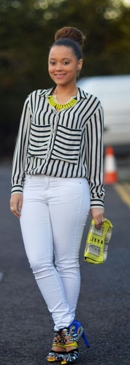 White and Neon / Fashion Bells