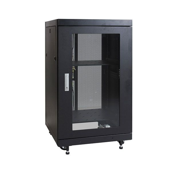 The 19″ 18RU 600W x 600D Floor Mount Rack range provides effortless installation of both the cabinet and your valuable equipment without compromising cabinet strength or security. We also offer a wide range of rack and enclosure accessories allowing you to customise your system to suit your data requirements. This accessory range has been designed for maximum flexibility without compromising the security of your valuable equipment or the strength of the enclosure.