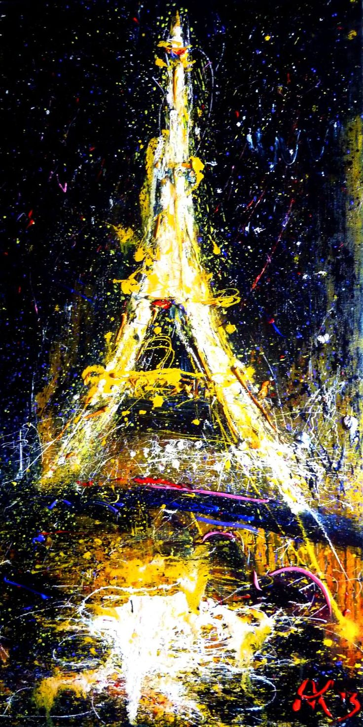 "Saatchi Art Artist Anastasia Kachina; Painting, ""Paris, SOLD"" #art"