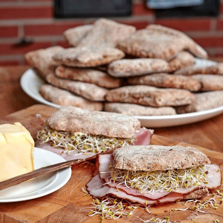 Mättande och nyttiga bröd gjorda på surdeg.