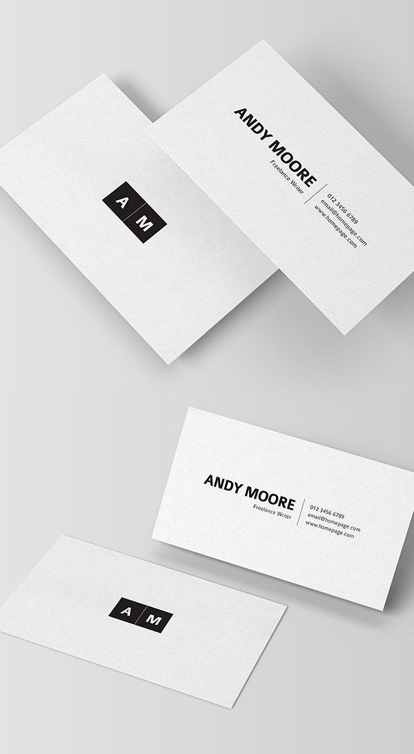 Best 25+ Minimal business card ideas on Pinterest | Black business ...