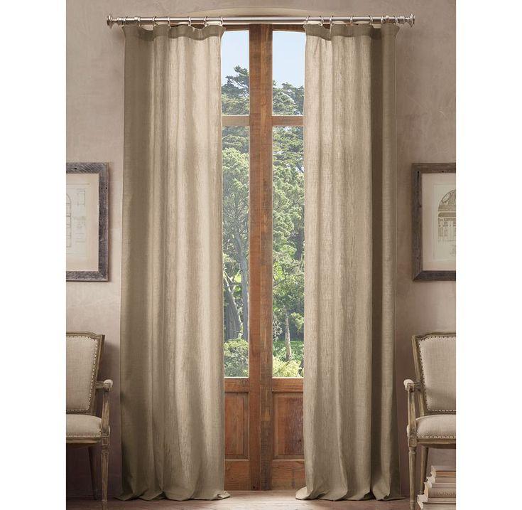 Restoration Hardware Wood Curtain Rods 28 Images Diy Curtain Rods Restoration Hardware