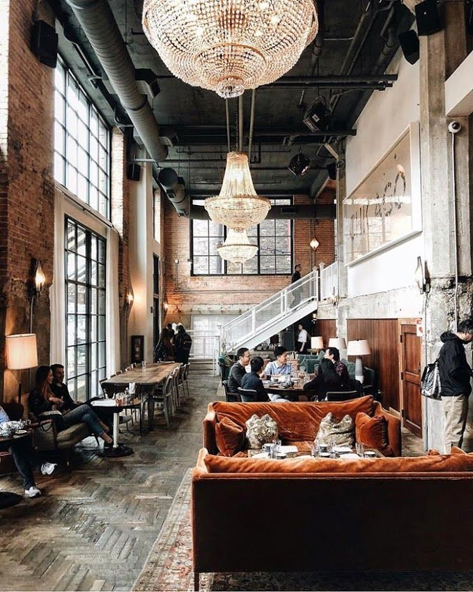 Weekend Inspiration Glamour Soho House Chicago Bar Restaurant Interior Bar Design Restaurant