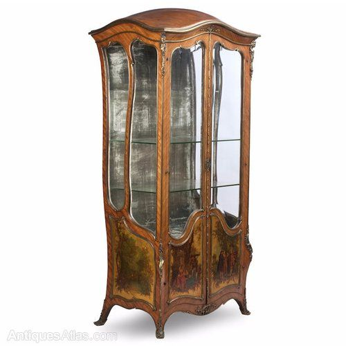 French Kingwood Vitrine Cabinet - 51 Best Antique French Furniture Images On Pinterest Antique